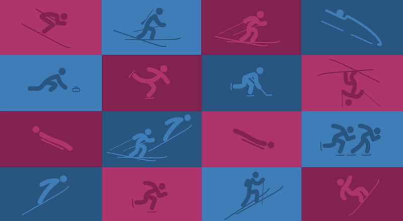 Lausanne 2020 reveals its pictograms 300 days before kick-off 076a14cd8c2